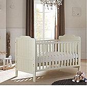 Tutti Bambini Alexia 2 Piece Cotbed + Wardrobe Room Set - Vanilla