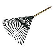 Faithfull Countryman Leaf Rake 22 Flat Tines