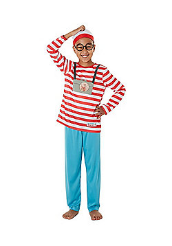 Where's Wally? Fancy Dress Costume - Red