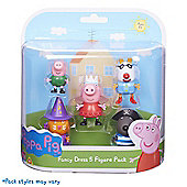 Peppa Pig Dress Up 5 Figure pack
