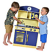 Teamson Kids Navy Deluxe Kitchen