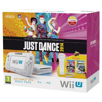 WiiU Basic Pack (8GB) + Nintendo Land + Just Dance 2014 (Limited Edition)