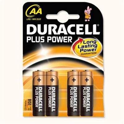Duracell MN1500B4 Alkaline 1.5V non-rechargeable battery