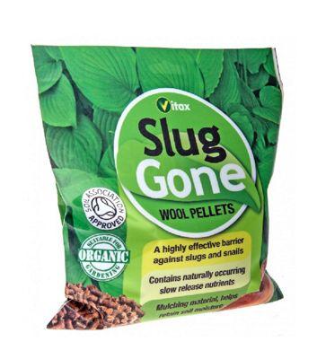 Vitax Slug Gone - Organic Wool Pellets for Plant Protection - 3.5 Litres