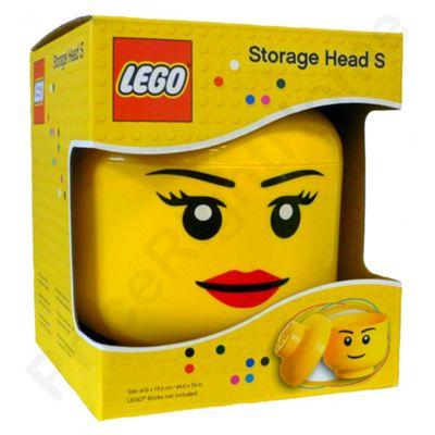 Lego Storage Head Girl Small