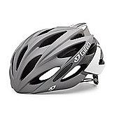 Giro Savant Road Bike Helmet Titanium/White