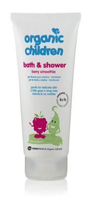 ORGANIC CHILDREN BATH & SHOWER - BERRY SMOOTHIE 200ML