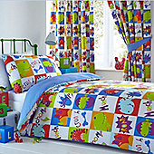 Young Dinosaurs Curtains 54s