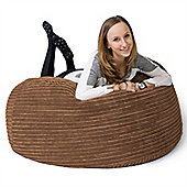 Lounge Pug® Mammoth Bean Bag Sofa - Cord Sand