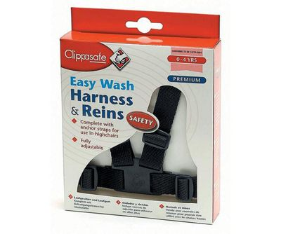 Clippasafe Easy Wash Harness and Rein Navy