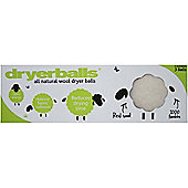 All Natural Wool Dryer Balls, Pack of 3