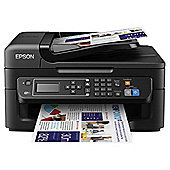 Epson WorkForce WF-2630WF, Wireless All-in-One Inkjet Colour Printer, A4 - Black