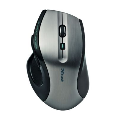 Trust MaxTrack Mouse - Wireless - 6 Button(s)