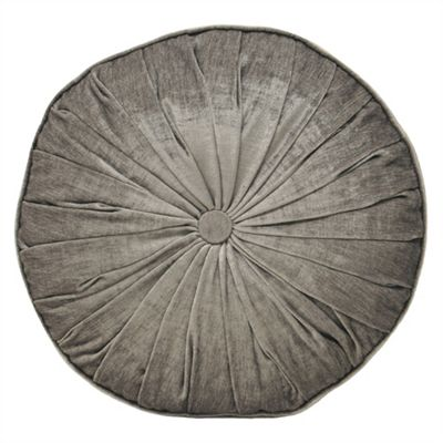 Riva Home Wellesley Silver Round Cushion 40cm