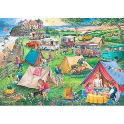 Find the Difference 10 - Camping -1000pc Puzzle