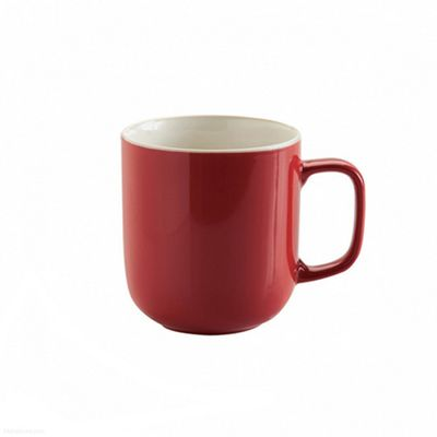 Price & Kensington Brights Mug, Stoneware, 14 oz, (Red)