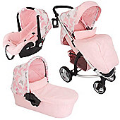 My Babiie Katie Piper MB200+ Travel System (Pink Butterflies)
