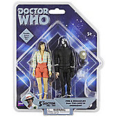 Doctor Who Exclusive Action Figure Set - Peri and Sharaz Jek from 'The Caves of Androzani'