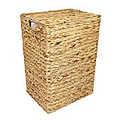 Woodluv Water Hyacinth Laundry Storage Basket - Large