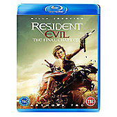 Resident Evil: The Final Blu-ray