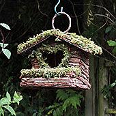 Love Heart Bush Wood Bird Nesting Box
