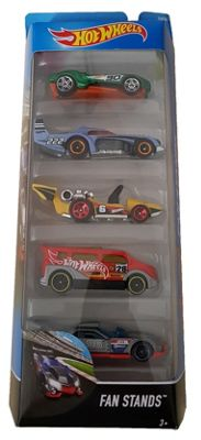 Hot Wheels 5 Pack - Fan Stands