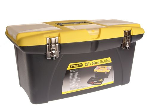 Stanley Jumbo Toolbox + Tray 55cm (22in)