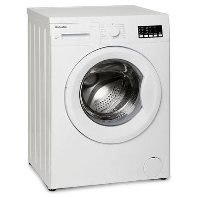 Montpellier MW8014P - 1400rpm 8kg Washing Machine, White