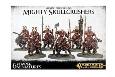 Warhammer Khorne Bloodbound Mighty Skullcrushers Model Kit