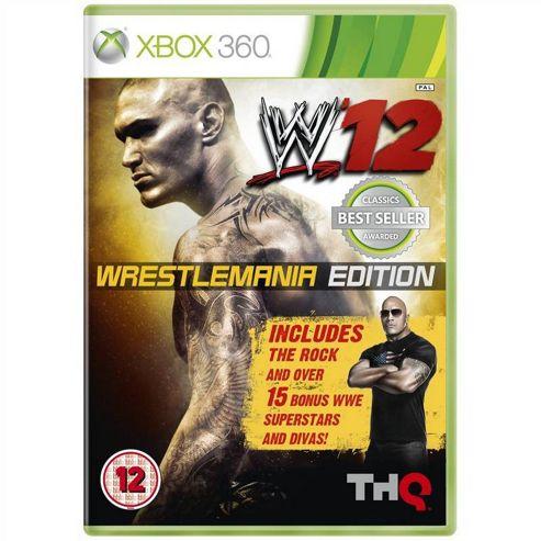 WWE 12 Wrestlemania Edition