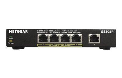 Netgear SOHO Ethernet Switch Series GS305P