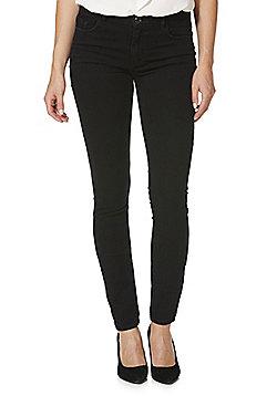 Jacqueline de Yong Holly Low Rise Skinny Jeans - Black wash