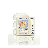 Crabtree & Evelyn Jojoba Oil Shell Soap Set 3x100g