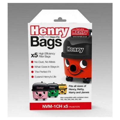 Henry Genuine bags 5 pack