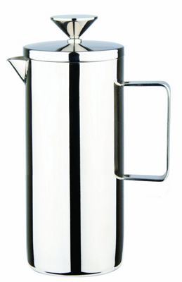 Grunwerg Plunger Cafetiere Straight French Coffee Press 1L CPS-10M