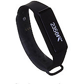 Archon Touch Black Smart Fitness Wristband OLED Touchscreen Activity Tracker