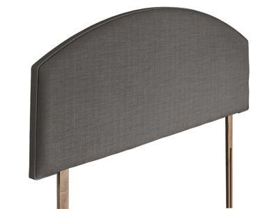Swanglen Cleopatra Gem Fabric Headboard with Wooden Struts - Slate - Single 3ft