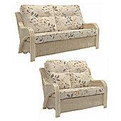 Desser Opera 3 Seater & 2 Seater Sofa Set & Millwood Cushions