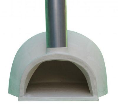 PIZZARO traditional pizza oven with funnel, made of CHIMALIN AFC (stand sold separately)