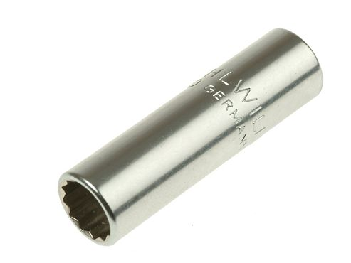 Stahlwille Bi-Hexagon Socket Extra Deep 1/4in Drive 13mm
