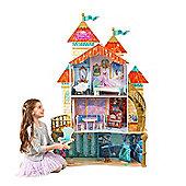Disney Princess Ariel Land To Sea Wooden Castle Dollhouse