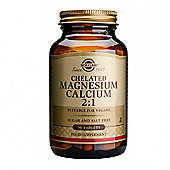 Solgar Chelated Magnesium/Calcium 2:1 Tablets 90