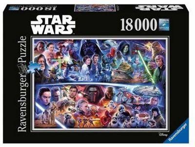 Star Wars - Episodes I-VII - 18000pc Puzzle