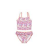 F&F Floral Bikini Set - Coral