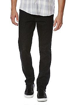 F&F Stretch Slim Leg Jeans - Washed black