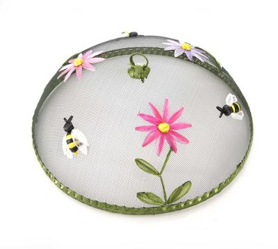 Eddingtons 35cm Dome Food Cover, Bumble Bees