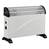 Ferretti FE-CH200WH White Convector Heater with 3 Heat Settings & Adjustable Thermostat