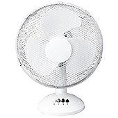 "Daewoo 12"" Inch Cooling Oscillating Desk Fan"