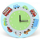 Transport Wall Clock