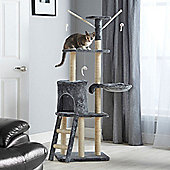Milo & Misty Large 3 Platform Cat Tree Scratching Post Activity Centre - Beige